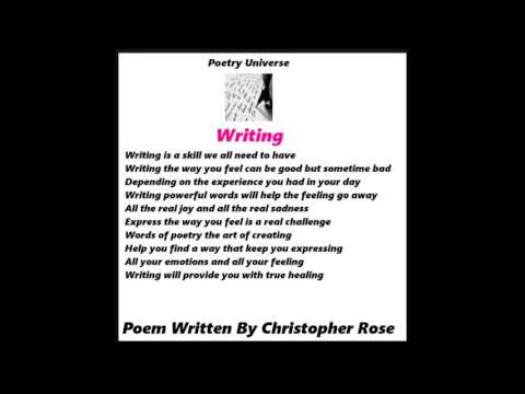 Poetry Universe - Writing (Picture)
