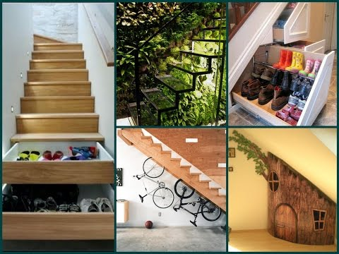 Under Stairs Ideas – 35 Best Interior Design Solutions