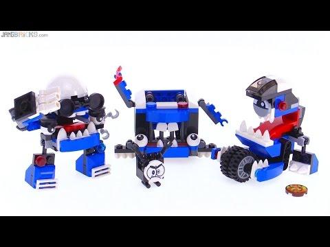 LEGO Mixels series 7 MCPD Kuffs Busto & Tiketz review!