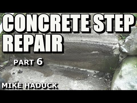 How I repair concrete steps (Part 6 of 6) Mike Haduck