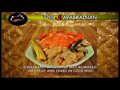 Pinoy Hapagkainan - GINATAANG LANGKA NA MAY ALIMASAG
