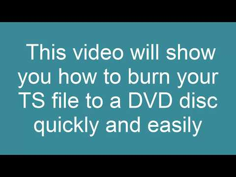 How to Convert TS to DVD
