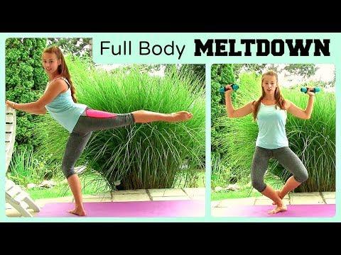 45min Full Body Meltdown and Strengthening Training