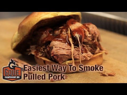 How to Smoke Pulled Pork on a Drum - Easy Pulled Pork Recipe