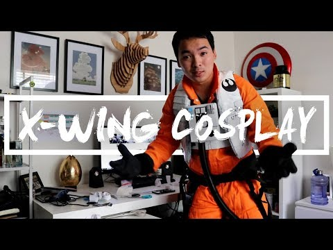 My Poe Dameron X-Wing Cosplay DIY