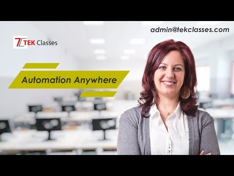 Automation Anywhere Tutorials|RPA Automation Anywhere