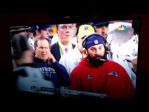 Belichick ear wax smell - Super Bowl 49