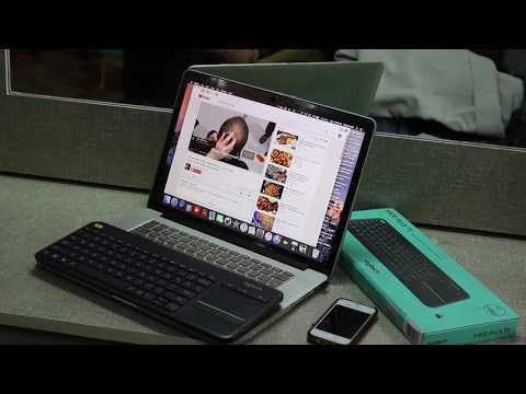 Logitech K400 Plus  WIRELESS KEYBOARD for Android TV / Macbook / Laptop / Projector