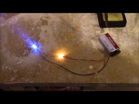 How to make a non flicker LED into a flicker LED