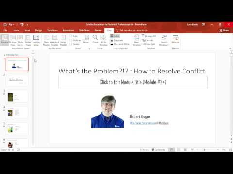 Quick Tip: Microsoft PowerPoint: Sections