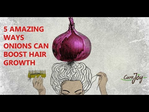 5 Amazing Ways Onions Can Boost Hair Growth