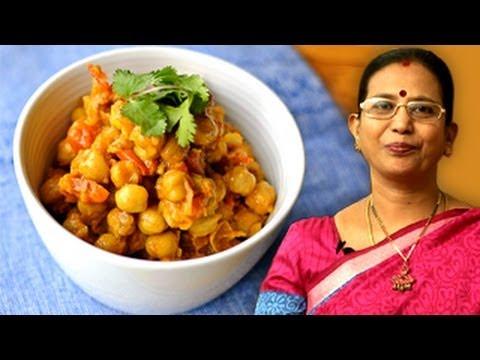 Oil Free Chana Masala Recipe   Mallika Badrinath Recipes   Reduce Weight