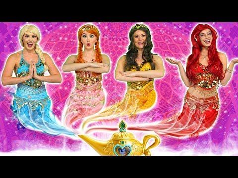 Xxx Mp4 DISNEY PRINCESS GENIES What Happens To Ariel Elsa Belle Jasmine Rapunzel And Anna 3gp Sex