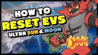 How To Reset Evs In Pokemon Ultra Sun And Ultra Moon