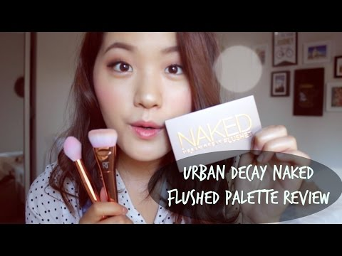 Urban Decay Naked Flushed Palette Review (Strobing)