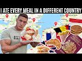 I Ate Every Meal In A DIFFERENT COUNTRY For 24 HOURS