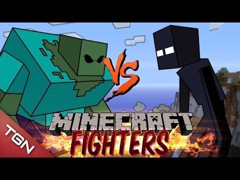MUTANT ZOMBIE VS MUTANT ENDERMAN: MINECRAFT FIGHTERS - Arena Battle