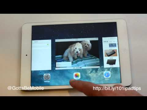 How to Close iPad Apps 1, 2 or 3