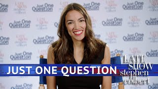 Download Just One Question With Rep. Alexandria Ocasio Cortez Video