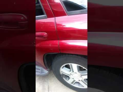 Rear brake pads replacement on a Chevy Trailblazer LT
