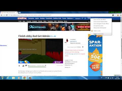 ROBLOX ROBUX Hack No Download Deutsch