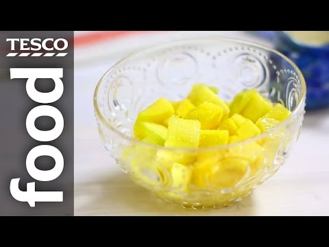 How to Peel a Mango in Under 30 Seconds | Tesco Food