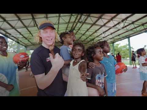 NAB AFL Academy Tiwi Islands visit