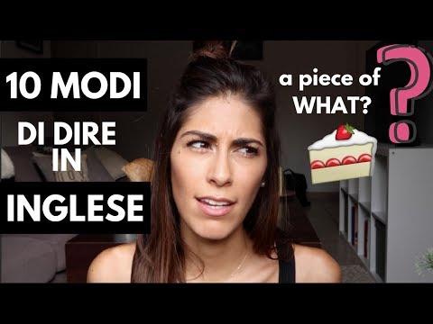 10 MODI DI DIRE IN INGLESE (eng sub)