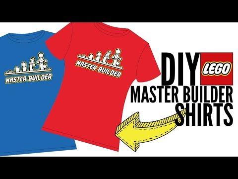 LEGO MASTER BUILDER SHIRT