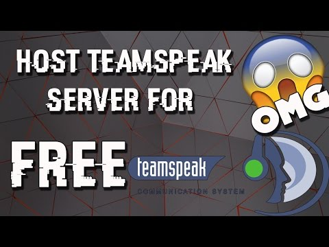 CREATE/HOST YOUR OWN TEAMSPEAK SERVER FOR FREE | 2016 (LIKE A BOSS )