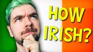 HOW IRISH IS JACKSEPTICEYE? | DNA Test