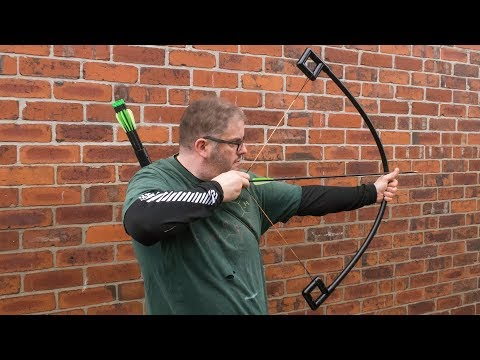 How to make a PVC and fibre glass archery bow