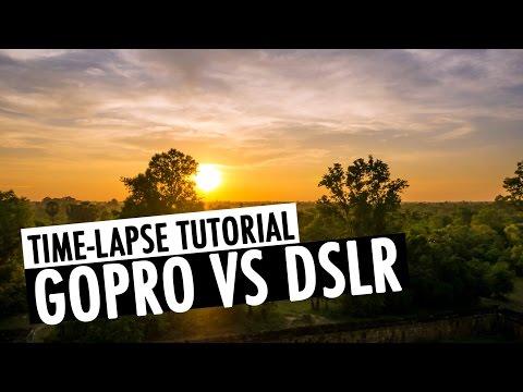 GoPro vs DSLR - Time-lapse Tutorial (Adobe Lightroom & LRTimelapse) | RehaAlev