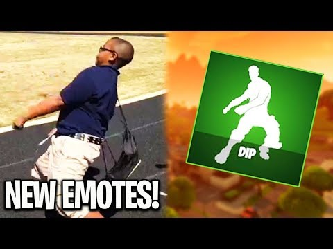 All NEW Emote Dances SHOWCASE! Star Power, Zany, Dip, Snap and Take 14 - New Fortnite Battle Royale