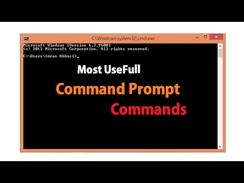 Most Useful Command Prompt (CMD) Commands - Urdu/Hindi