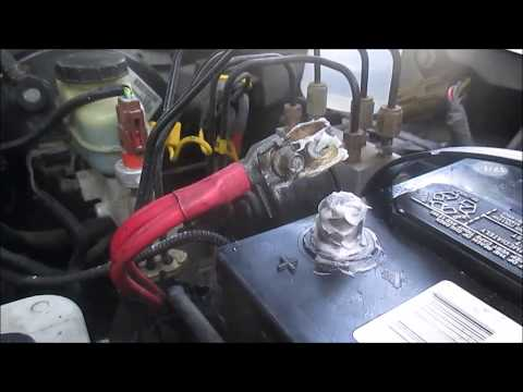 How I Clean My Car Battery Terminals