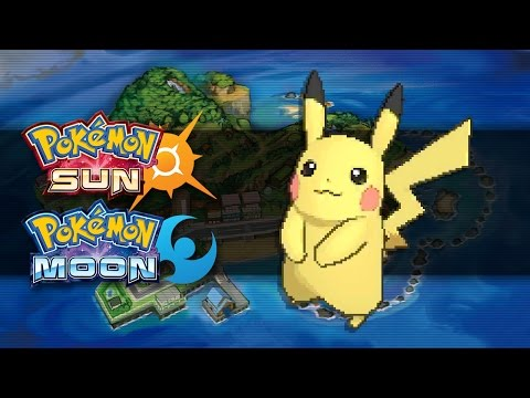 Pokemon Sun and Moon | How To Get Pikachu