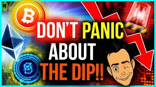 3 REASONS WHY YOU SHOULDN'T PANIC SELL YOUR CRYPTO!