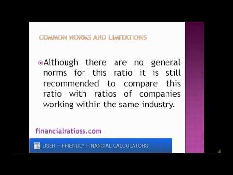 What is capitalization ratio?