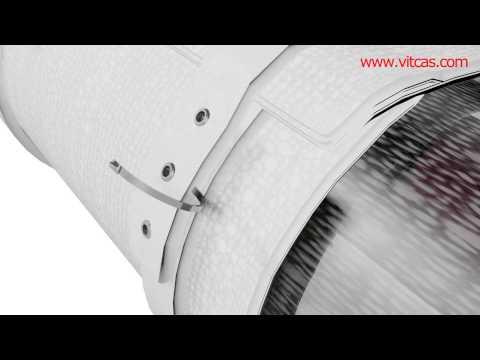 FLUE INSULATION WRAP VITCAS