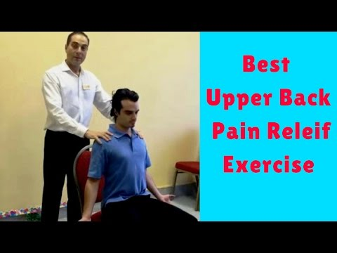 Best Upper Back Pain Relief Exercise by Chiropractor in Vaughan