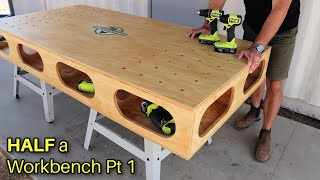 How to Build HALF a Workbench - Paulk Inspired - Part 1, The TOP