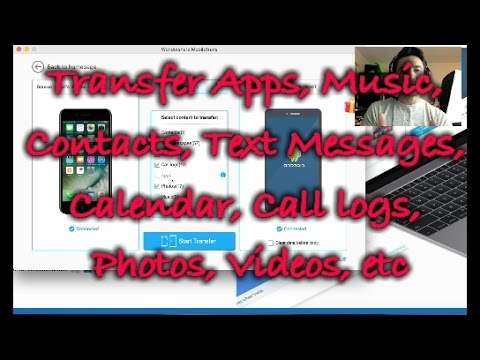 How to Transfer Data Between Android & iPhone w/ MobileTrans
