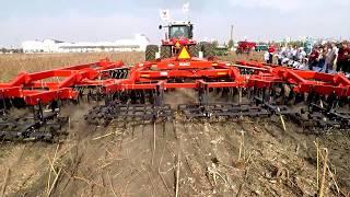 Трактор Buhler Versatile 2375 и дисковая борона Kuhn Krause 8210