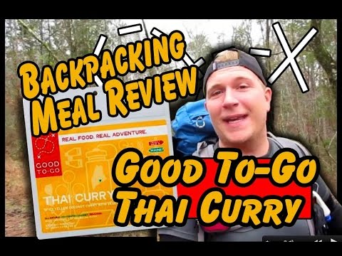 REVIEW: Good TO-GO Thai Curry - Backpacking Meal Review