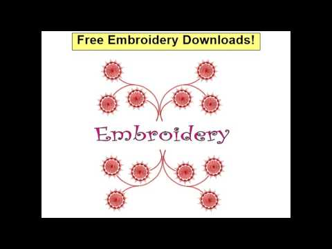 Free Embroidery Downloads - Free Embroidery Fonts