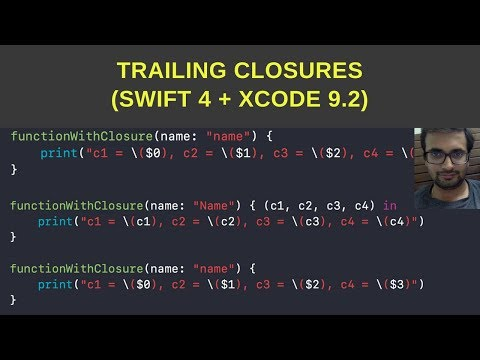 Trailing closures swift 4