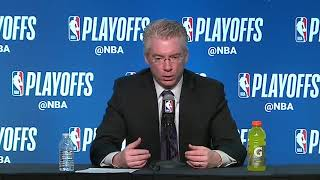 Joe Prunty Postgame Interview / Bucks vs Celtics Game 3