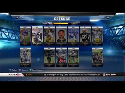 Madden 13-Ultimate Team Update-PLUS how to get team better