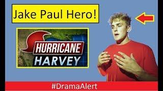 Jake Paul the HERO of Hurricane Harvey! #DramaAlert FaZe Banks vs News! iDubbbz & FouseyTube